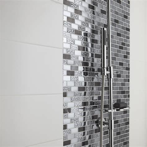 Attrayant Leroy Merlin Carrelage Mural Salle De Bain #5: mosaique-sol-et-mur-fusion-neo-futurisme-noir-et-chrome.jpg