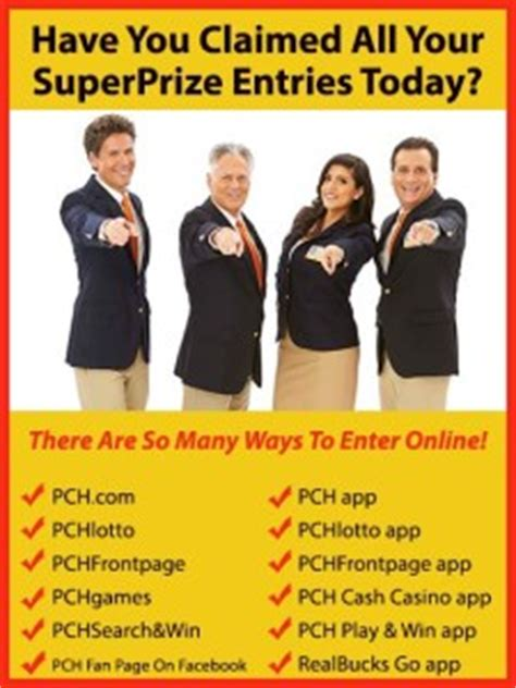 Pch Com Enter To Win - how many ways can i enter to win the pch sweepstakes pch blog