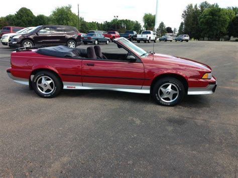1989 chevy cavalier z24 convertible original no rust for