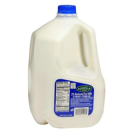 milk reduced fat 2% 1 gallon   walgreens