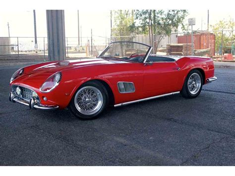 250 Gt California Replica For Sale by 1963 250 Gte California Spyder For Sale