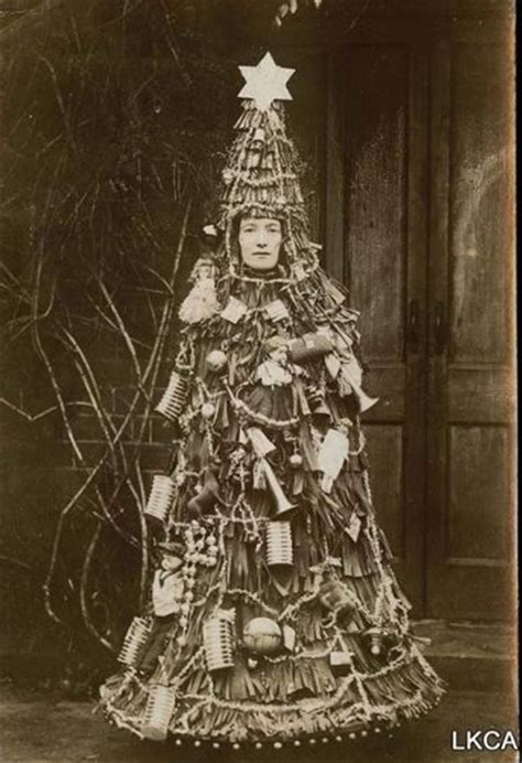 vintage christmas tree costumes the unique fashion styles