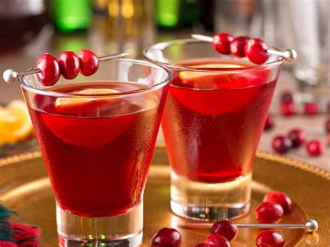 holiday cocktail recipes christmas cocktail ideas saga