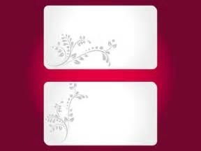 free card template floral cards templates