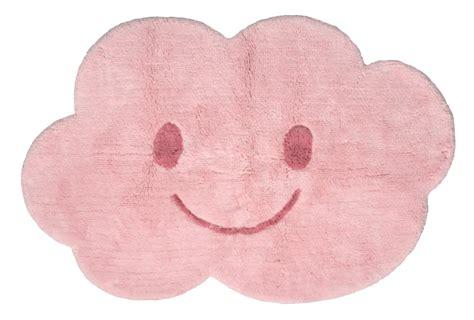 kinderzimmer teppich wolke nattiot waschbarer kinderteppich wolke nimbus rosa