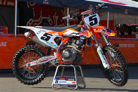 2015 ktm motocross bikes dungey look 2015 bikes of supercross