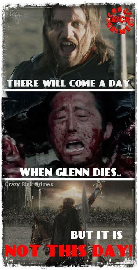 Walking Dead Glenn Meme - hope lotr and haha on pinterest