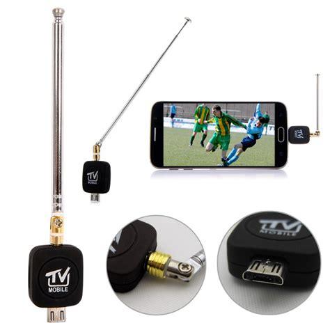 Antena Tv Android aliexpress buy 5 pcs android satellite receiver satellite phone mini micro usb dvb t tuner