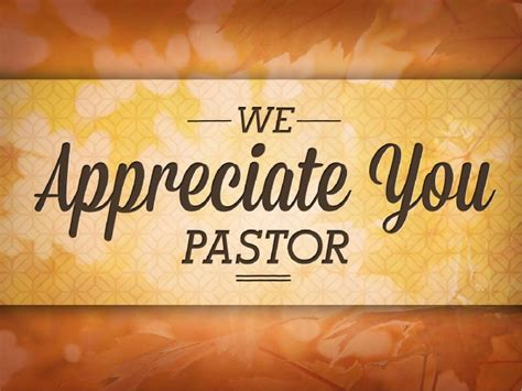 pastor appreciation christian bulletin harvest fall