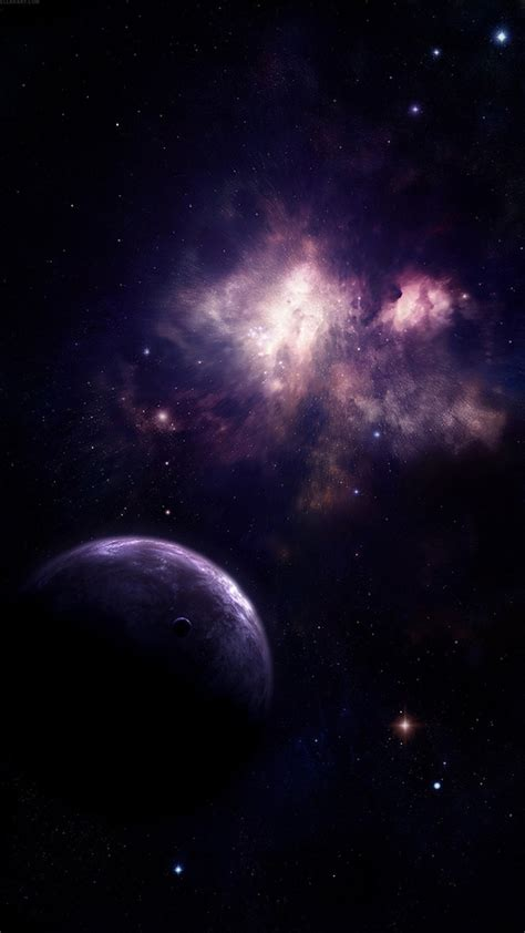 wallpaper android universe universe planet nebula shiny outer space view wallpaper