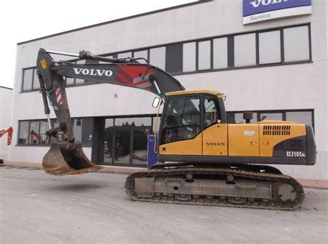 volvo ec   crawler excavators year  manufacture  mascus uk