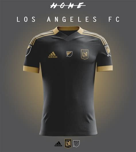 los angeles fc home kit