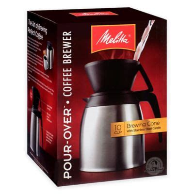 buy pour coffee maker from bed bath beyond