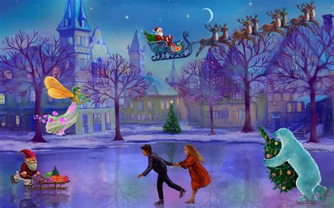 christmas wallpaper live for windows 7 christmas rink live wallpaper download apk for android