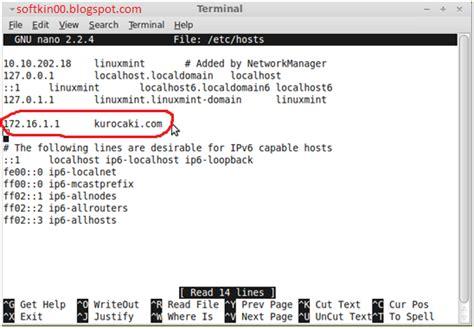 membuat web hosting dengan linux computer membuat web server di linux