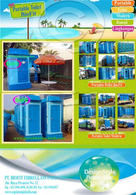 Toilet Portable Biofit Type Premium B Free Septic Tank Tangki Air septic tank biotech nomor 1 di indonesia beranda