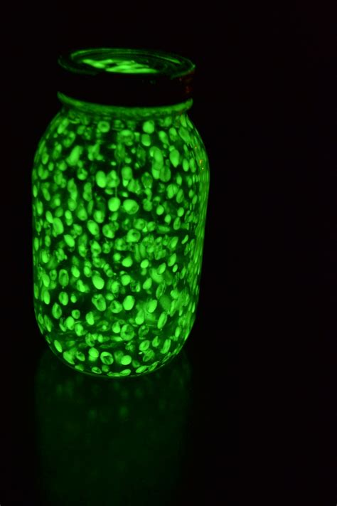 glow in the paint jars pin by theresa nunez creative mind on we made this