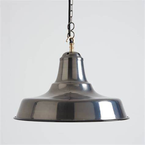Black Industrial Pendant Light Industrial Black Nickel Pendant Light By Horsfall Wright Notonthehighstreet