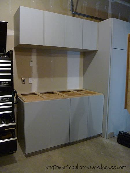 Diy Garage Cabinet by Plywood Garage Cabinets Plans Free