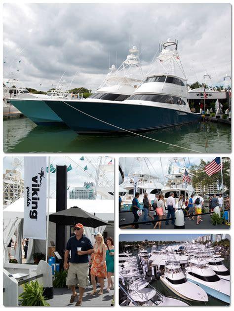 viking yachts miami boat show viking yachts miami boat show display 4800 block on
