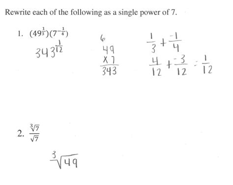 Rational Exponents Worksheet by Worksheet Rational Exponents Worksheet Caytailoc Free