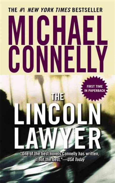 michael connelly best book review the lincoln lawyer michael connelly the