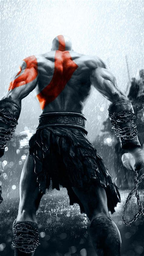 God Of War Hd Wallpaper For Iphone