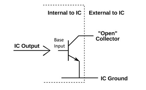 integrated circuit understanding integrated circuit understanding proper implementation of open collector electrical