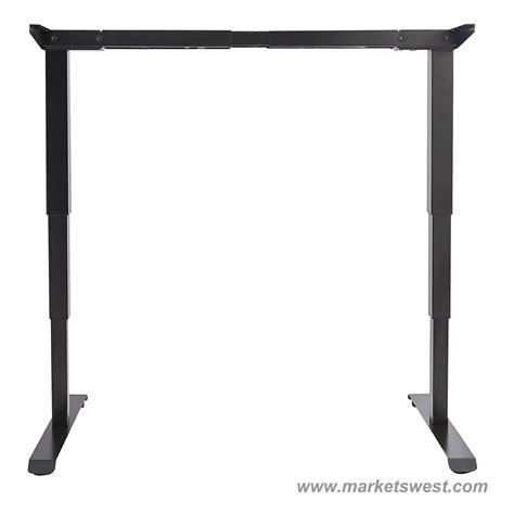 adjustable height table base alera 3 stageelectric adjustable height table base