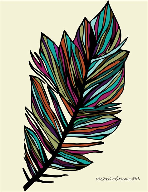 colour design feather irene victoria toronto freelance graphic designer