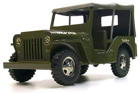 tonka army jeep selling tonka toys 1964 jeep commander