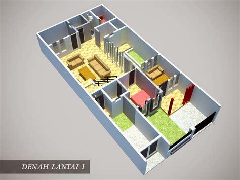 desain rumah minimalis ukuran 6x15 desain rumah minimalis 1 lantai ukuran 6x15 model rumah unik