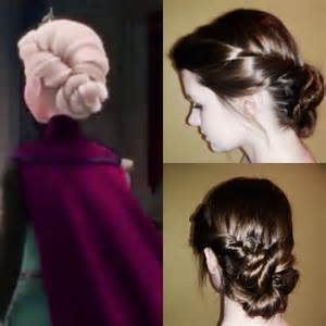 coronation hair treatment queen elsa s coronation hair from frozen by riccardo