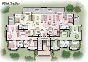 Beautiful Unit Apartment Building Plans Pictures Decorating