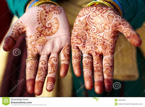 full hand tattoo cost in india henna tattoo hand art in india stock image image 18224539