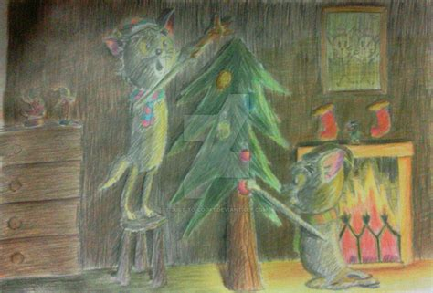 underneath the christmas tree by peppermintsoda on deviantart