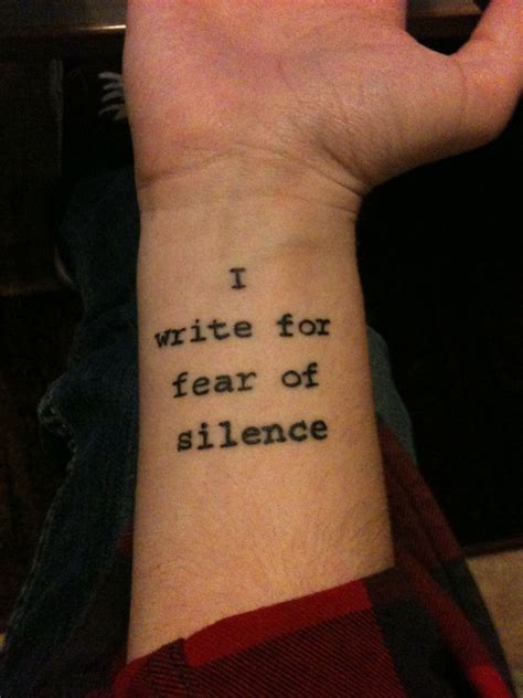 quote wrist tattoos wrist quote idea