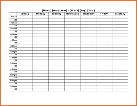 11 weekly timetable pdf budget template letter