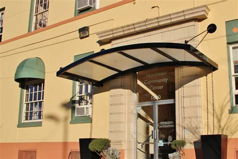 Plexiglass Awnings by Commercial Gallery Canopies