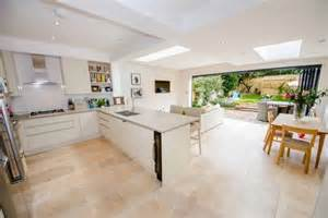 kitchen diner extension ideas kitchen extension in east sheen kitchen bi folding doors folding doors and diners