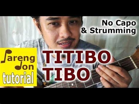 tutorial ukulele titibo tibo guitar tutorial titibo tibo chords from pareng don s