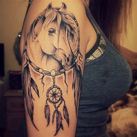 horseshoe dreamcatcher tattoo tattoos 147 designs handpicked for your and your