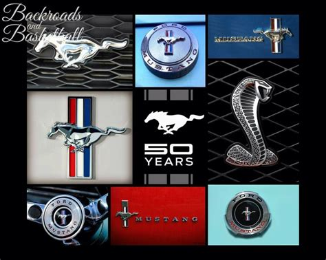 logo ford 2017 ford 2017 50 years of ford mustang logos collage by