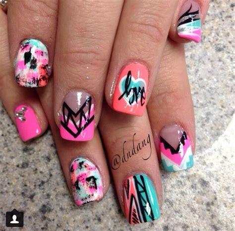 colorful acrylic nails colorful acrylic nails nails