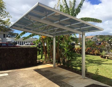 modern carport our lexan roof panels are not only extremely strong but reduce heat up to 75 and block 100 of
