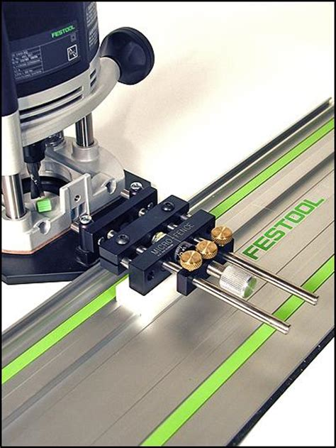 Dado And Rabbet With Festool 1400 And Guide Rail Festool Router Template Guide