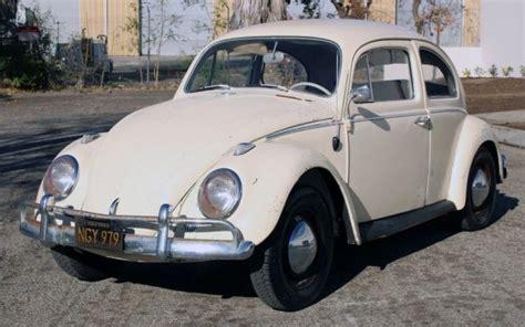 parked  years   volkswagen beetle