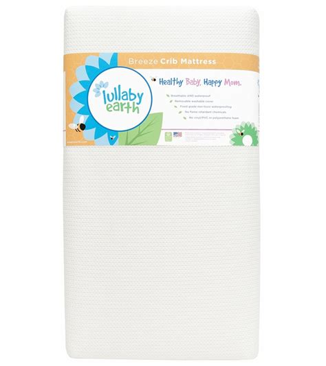 Lullaby Earth Crib Mattress Reviews Lullaby Earth 2 Stage Crib Mattress White