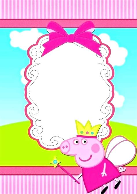 Pig Party Invitations As Well Birthday Invitation Template Free Invites Printable Peppa Card Peppa Pig Template