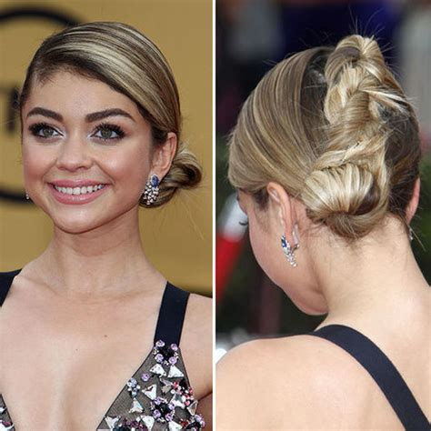7 amazing hairstyles design by sarah angius part 2 amazing homecoming hairstyles from the red carpet more com